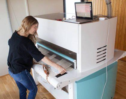 TC2 loom machine at Blönduós (Iceland)