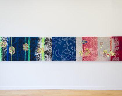 Upholstry Fabrics and Artwork by Melissa Leandro!