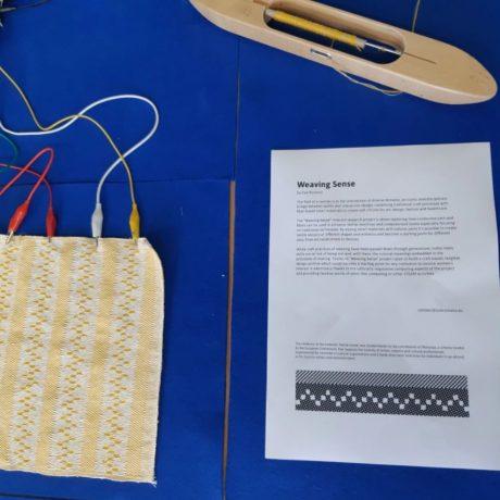 Zoe Romano's Weaving Sense project at Icelandic Textile Centre!